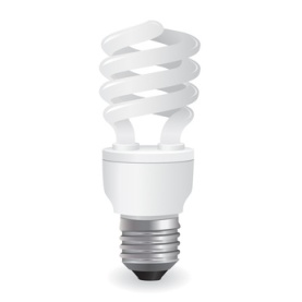 vector lightbulbs icon