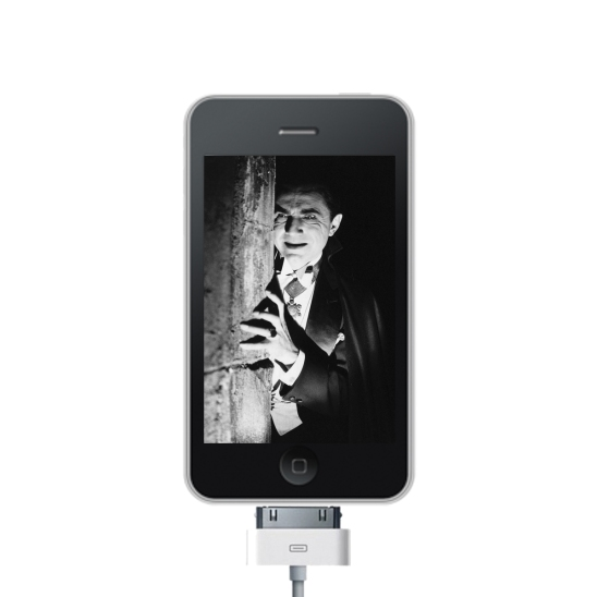 Dracula on an iPhone