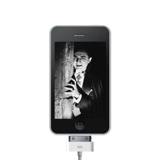 Dracula on an iPhone