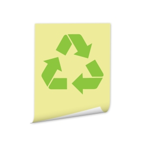 Recycled Content Post-It