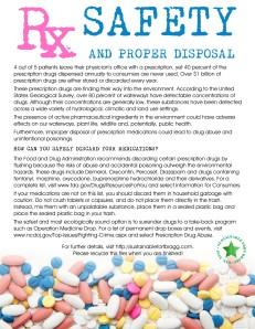 Rx Drug Disposal